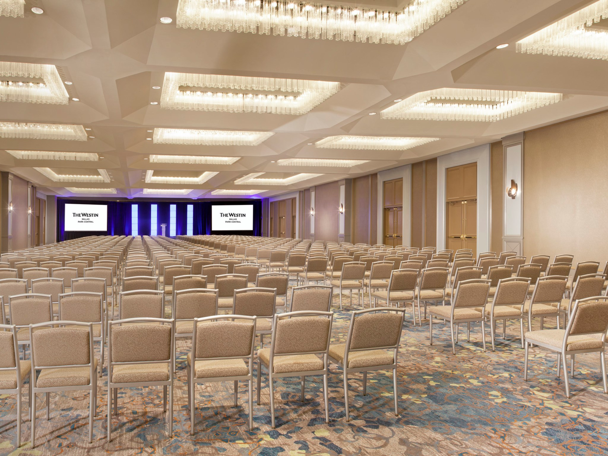 The Westin Dallas Park Central - Classroom Setup Ballroom